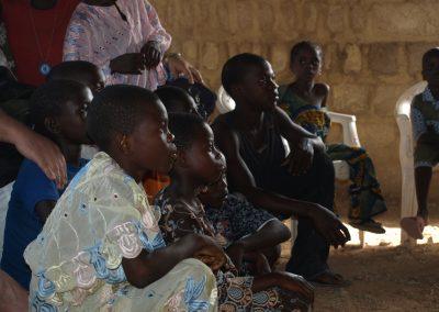 Pequeños del Egbe en Iragbiji Nigeria